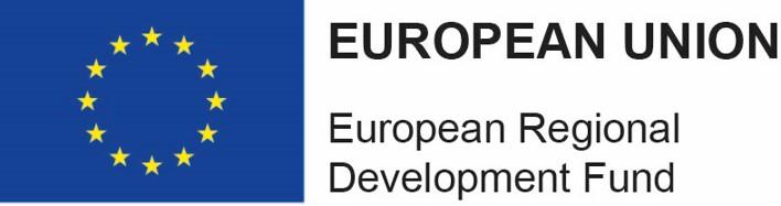 Logo European Union Regional Development Fund